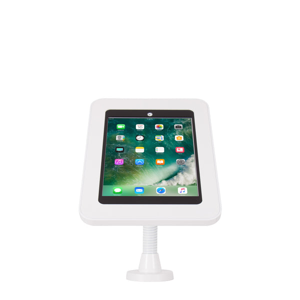 kiosks - Elevate II Flex Wall | Countertop Mount Kiosk for iPad 9.7 6th | 5th Generation | Air (White) - The Joy Factory