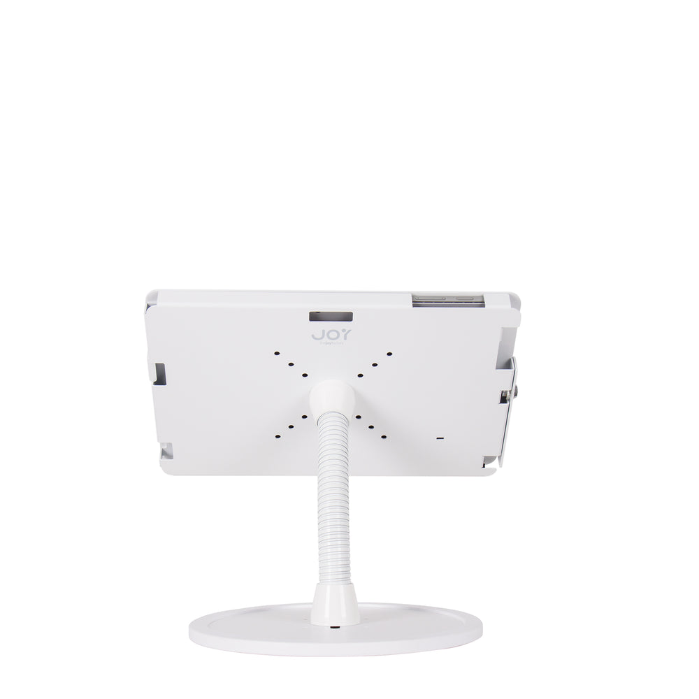 kiosks - Elevate II Flex Countertop Kiosk for Surface Pro 7 | 6 | 5 | 4 (White) - The Joy Factory