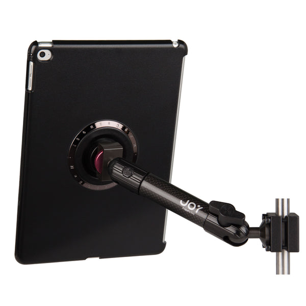 iPad Headrest Mount and standard tray - The Joy Factory