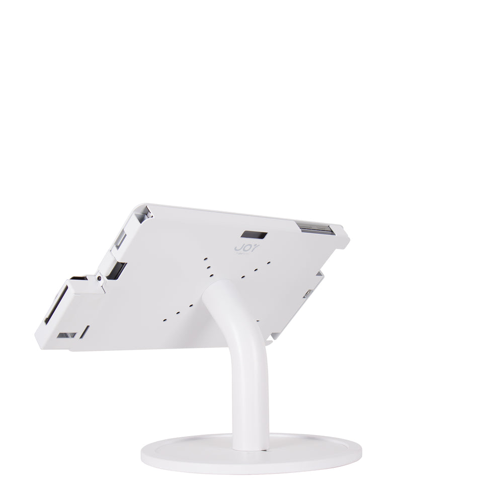 kiosks - Elevate II POS Countertop w/ MagTek eDynamo Bracket for Surface Pro 7 | 6 | 5 | 4 (White) - The Joy Factory