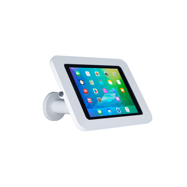 kiosks - Elevate II Wall | Countertop Mount Kiosk for iPad 9.7 | Air (White) - The Joy Factory
