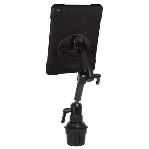 ipad cup holder mount with rugged case for iPad Air - The Joy Factory