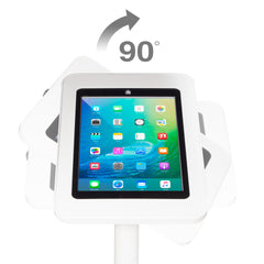 kiosks - Elevate II Rotate 90 Degree Module (White) - The Joy Factory