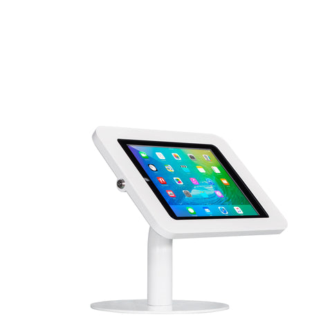 kiosks - Elevate II Countertop Kiosk for iPad 9.7 5th Generation | Air (White) - The Joy Factory