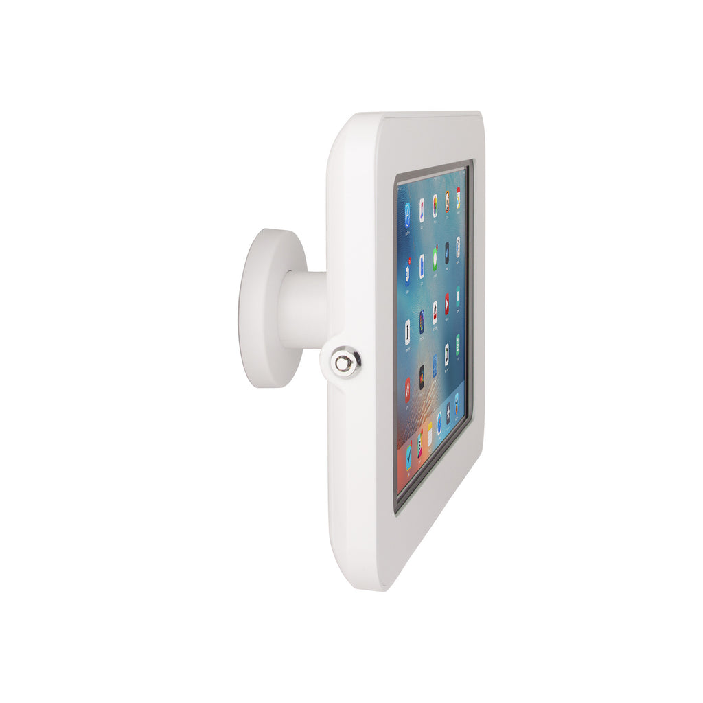 kiosks - Elevate II On-Wall Mount Kiosk for iPad 9.7, Air (White) - The Joy Factory