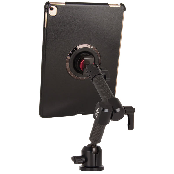 iPad Counter Mount dual arms rear view