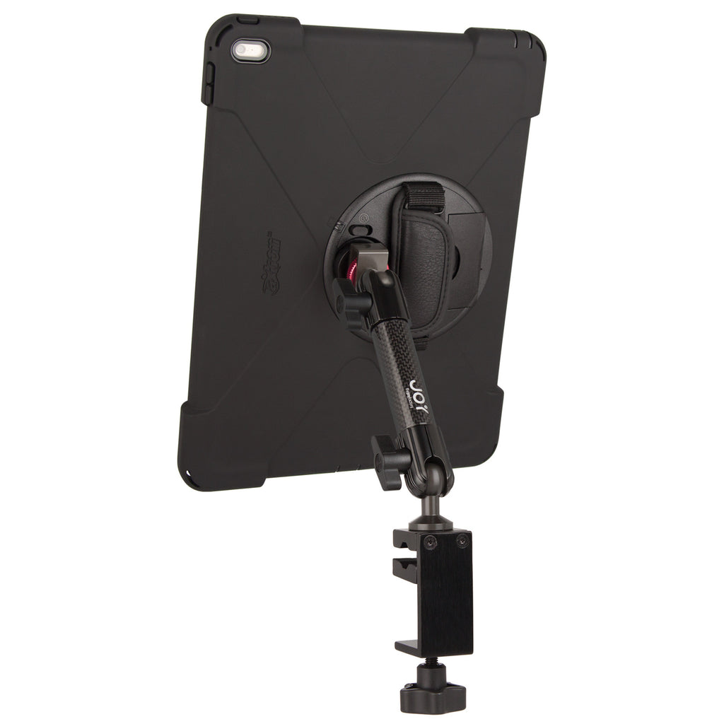 "MagConnect Bold MP C-Clamp Single Arm Mount for iPad Pro 12.9"" - The Joy Factory"