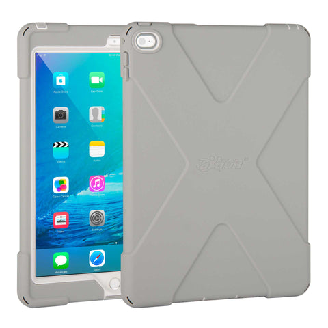 cases - aXtion Bold Case for iPad Air 2 (Gray/White) - The Joy Factory