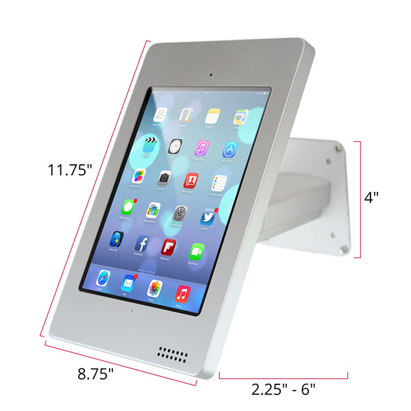Elevate Wall Mounted Kiosk (Rotating) for iPad Air 2, Air, iPad 4th/3rd/2nd Gen. - The Joy Factory