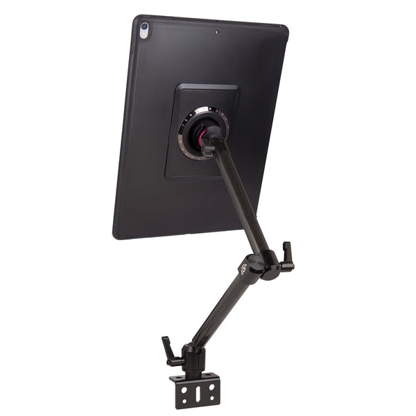 "MagConnect Wheelchair Rail Mount for iPad Pro 12.9"" - The Joy Factory"