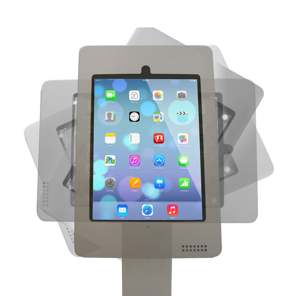 ipad air kiosk portrait and horizonal