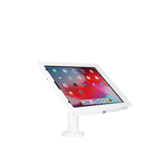 "kiosks - Elevate II Wall | Countertop Mount Kiosk for iPad Pro 12.9"" 3rd Gen (White) - The Joy Factory"