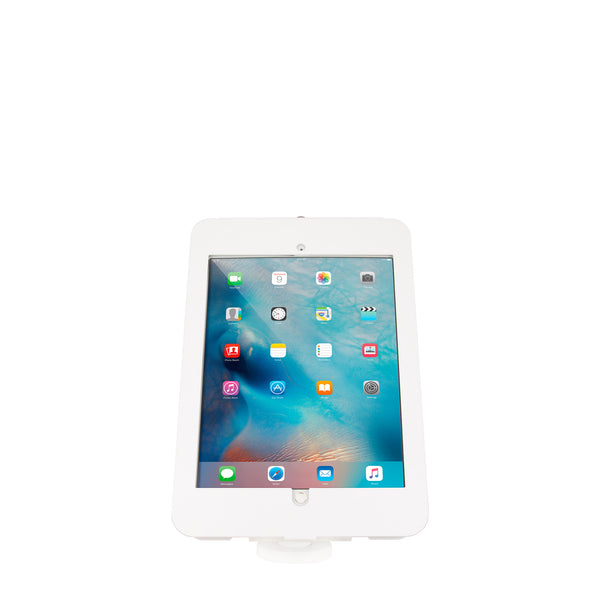 kiosks - Elevate II Wall/Countertop Mount Kiosk for iPad Pro 12.9 (White) - The Joy Factory