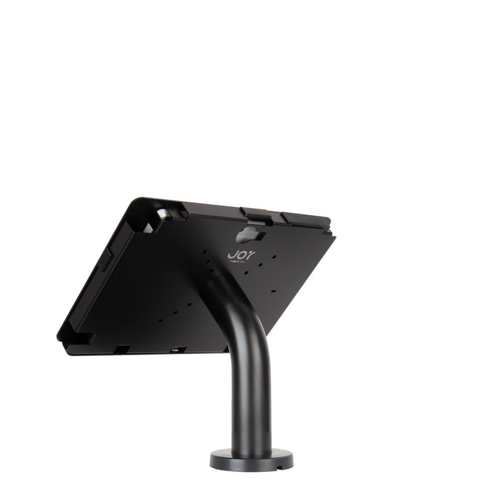kiosks - Elevate II Wall | Countertop Mount Kiosk for Surface Go (Black) - The Joy Factory