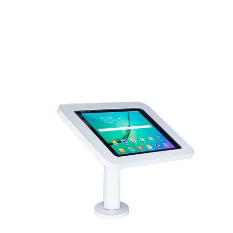 kiosks - Elevate II Wall/Countertop Mount Kiosk for Galaxy Tab S3 | S2 9.7 (White) - The Joy Factory