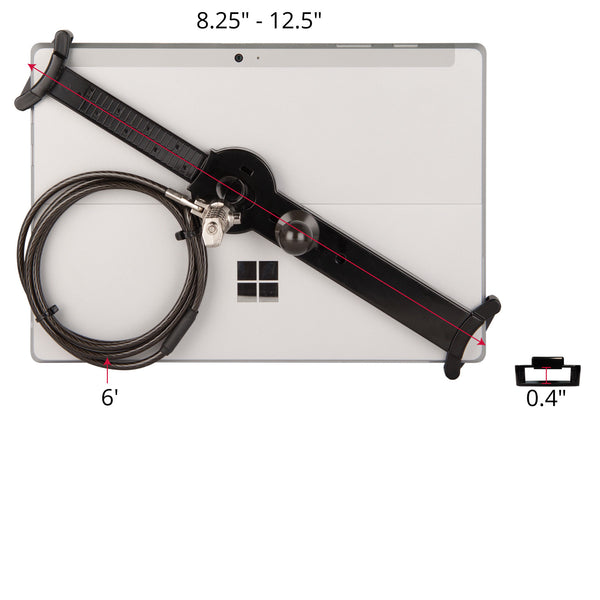 "accessories - LockDown Universal Holder w/ Combination Lock for 7"" - 10.1"" Tablets - The Joy Factory"