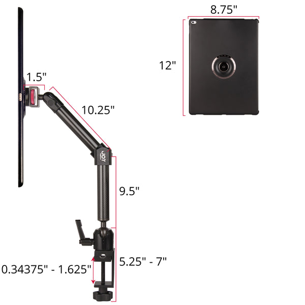 "- MagConnect Wheelchair Mount for iPad Pro 12.9"" 2nd 