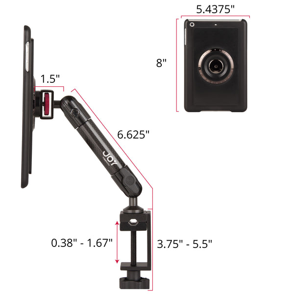 MagConnect C-Clamp Mount for iPad mini 3/2/1