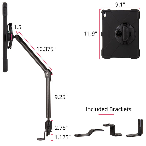 "mount-bundles - MagConnect Bold MP Seat Bolt Mount for iPad Pro 12.9"" 3rd Gen - The Joy Factory"