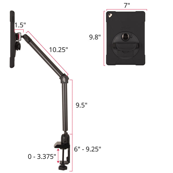 - MagConnect Bold MP Clamp Mount for iPad Pro 9.7"