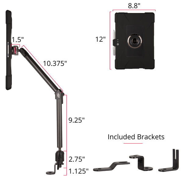 Surface Pro 3 case and Seat Bolt Mount - The Joy Factory