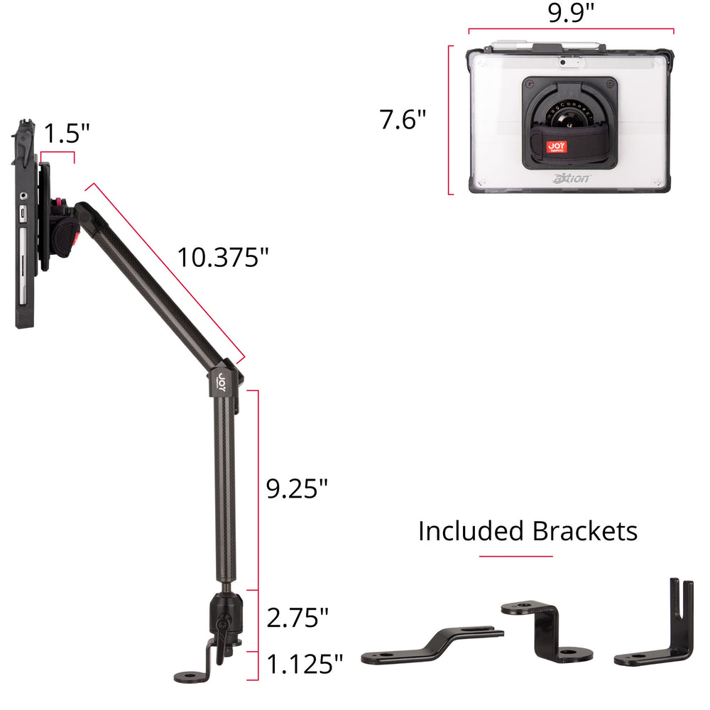 mount-bundles - MagConnect Edge MP Seat Bolt Mount for Surface Go - The Joy Factory