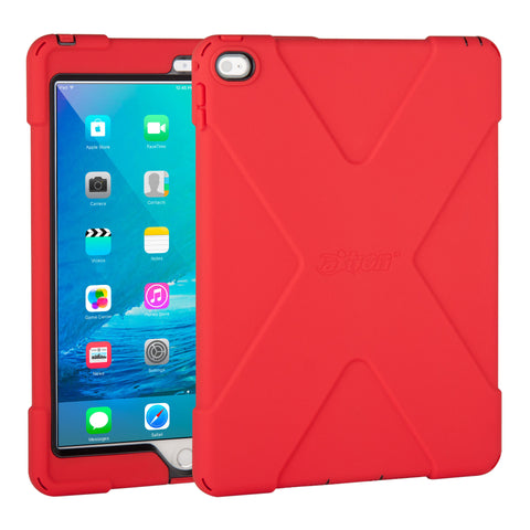 cases - aXtion Bold Case for iPad Air 2 (Red/Black) - The Joy Factory