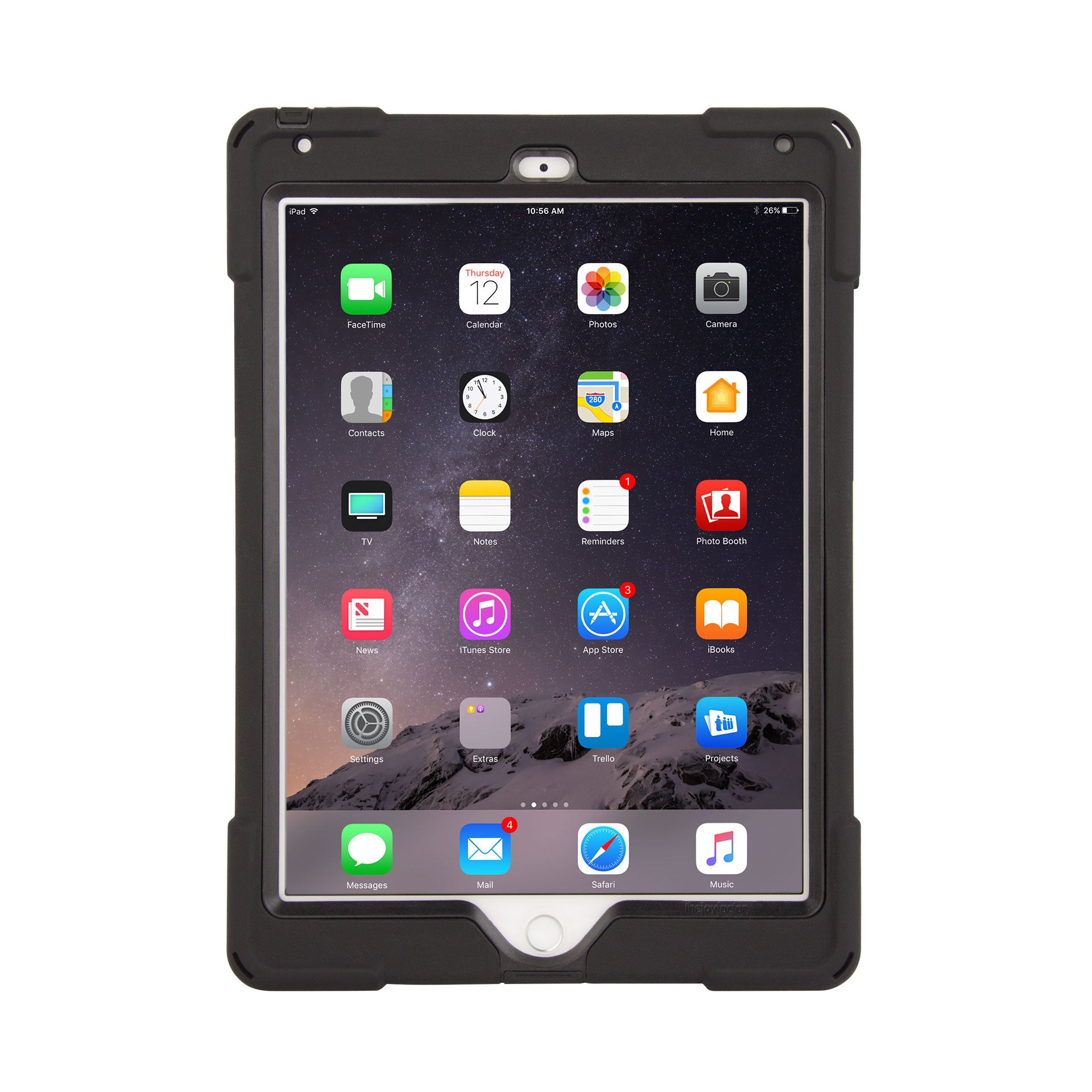 axtion bold water resistant ipad air 2 rugged case | the joy factory