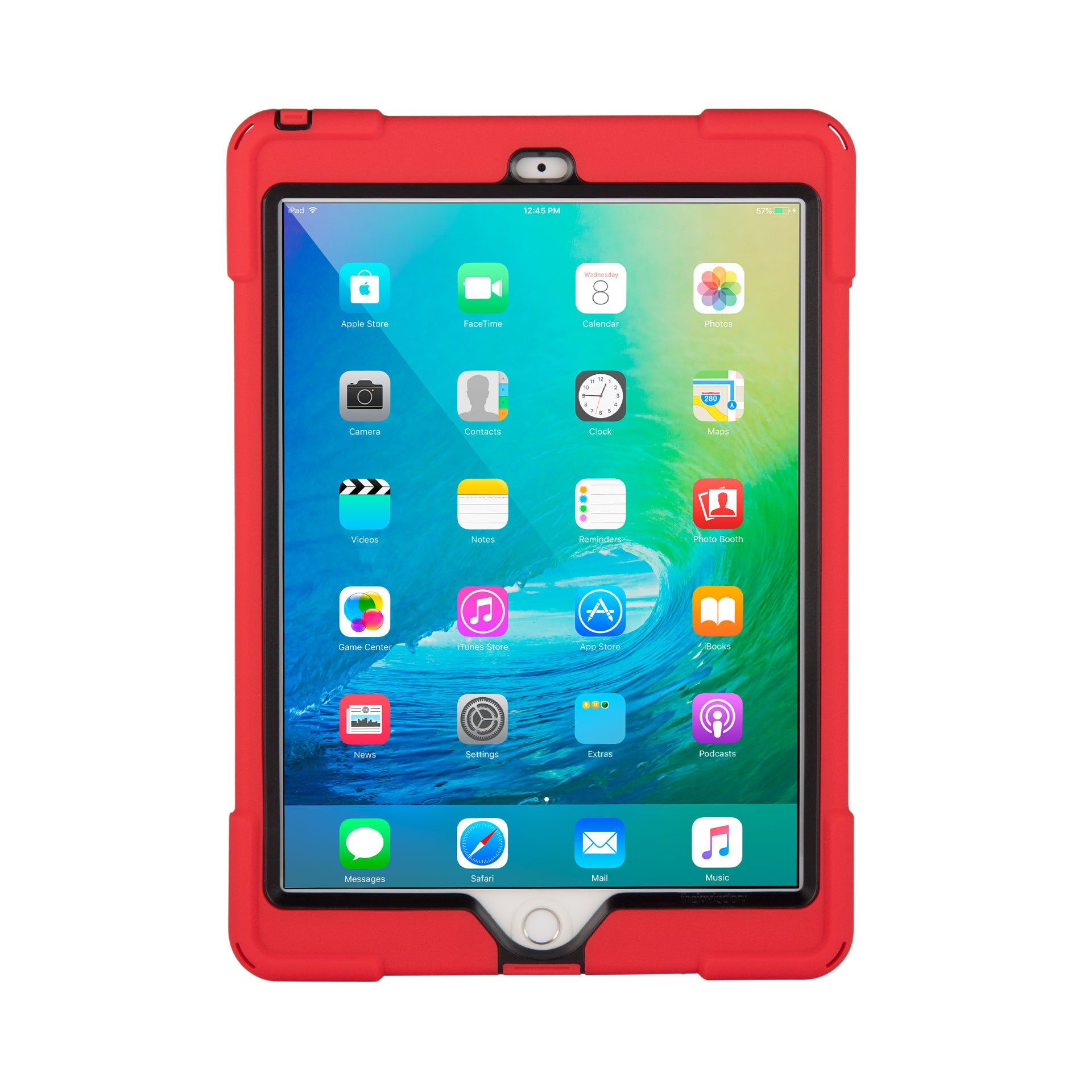 official photos d8536 3bc84 aXtion Bold Case for iPad Air 2 (Red/Black)