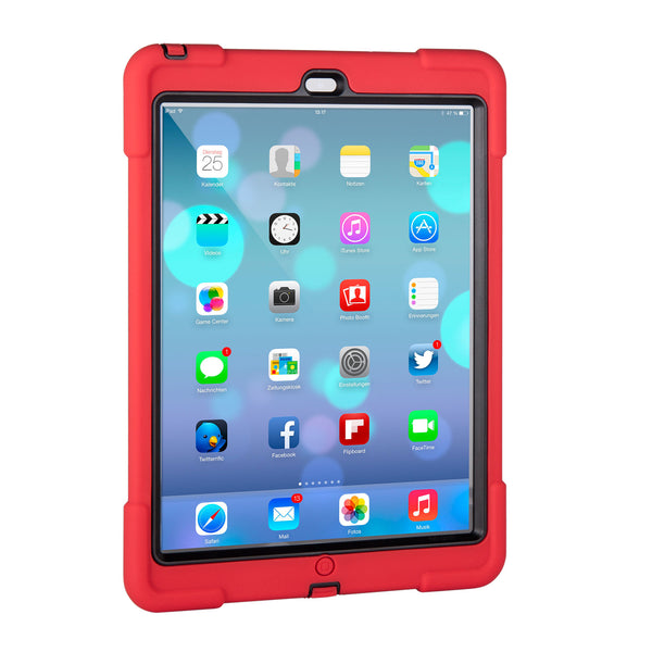 aXtion Bold Case for iPad Air (Red/Black) - The Joy Factory - 3