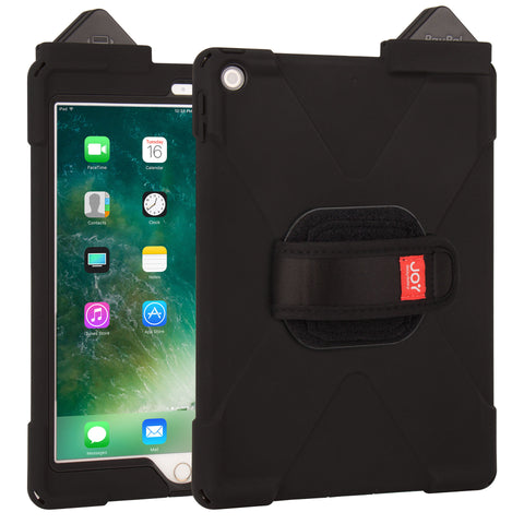 cases - aXtion Bold M & Universal Hand Strap for iPad 9.7 5th Gen. with PayPal Here Card Reader Support - The Joy Factory