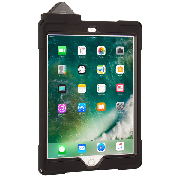 cases - aXtion Bold M for iPad 9.7 6th | 5th Gen with Universal Hand Strap & PayPal Card Reader Support - The Joy Factory