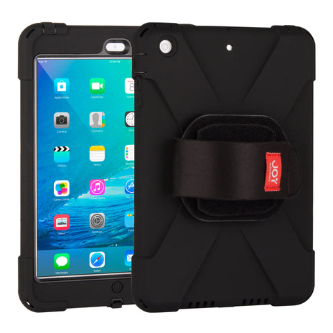 cases - aXtion Bold M Case with Universal Rotating Hand Strap for iPad mini 3/2/1 - The Joy Factory