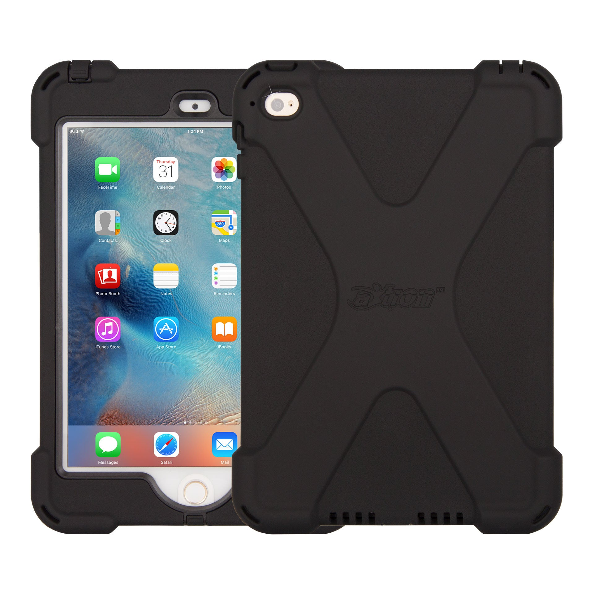 axtion bold rugged, water-resistant ipad mini 4 case | the joy factory