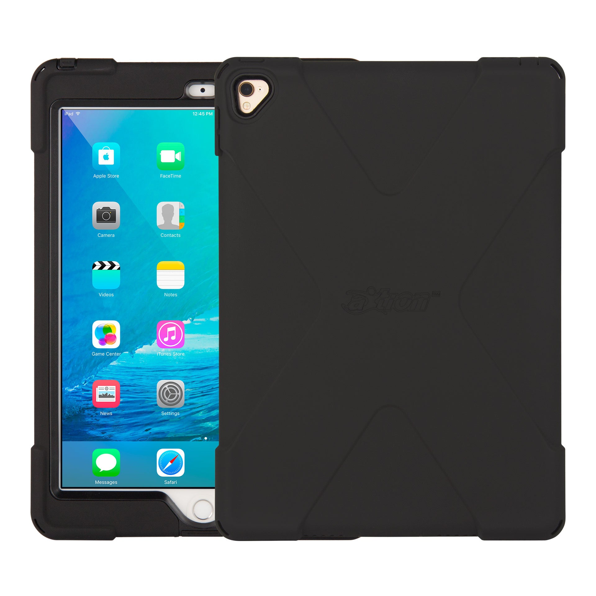 axtion bold, ipad pro 9.7 ultra-slim, water-resistant, rugged case