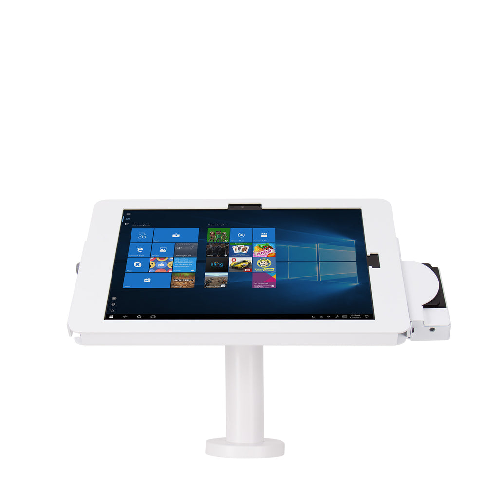 kiosks - Elevate II POS Wall | Countertop Kiosk with MagTek eDynamo Bracket for Surface Pro 6 | 5 | 4 | 3 - The Joy Factory