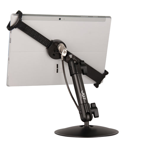 "LockDown Universal Desk Stand w/ Combination Lock for 7"" - 10.1"" Tablets - The Joy Factory"
