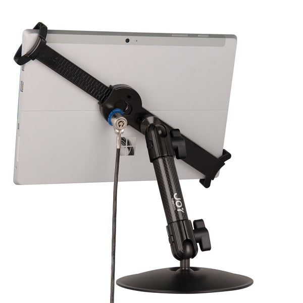 "LockDown Universal Desk Stand w/ Key Lock for 7"" - 10.1"" Tablets - The Joy Factory"