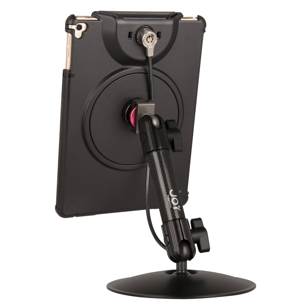 MagConnect Desk Stand Mount w/ LockDown for Pro 9.7, Air 2 (Cable Lock Included) - The Joy Factory