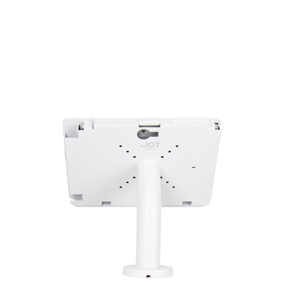 kiosks - Elevate II Wall | Countertop Mount Kiosk for Surface Go (White) - The Joy Factory
