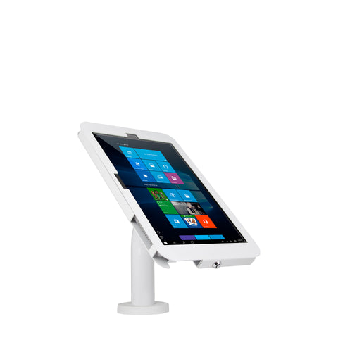 kiosks - Elevate II Wall | Countertop Mount Kiosk for Surface Pro 6 | 5 | 4 | 3 (White) - The Joy Factory