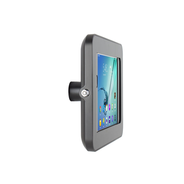 kiosks - Elevate II On-Wall Mount Kiosk for Galaxy Tab S3 | S2 9.7 (Black) - The Joy Factory