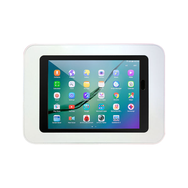 kiosks - Elevate II Countertop Kiosk for Galaxy Tab S3 | S2 9.7 (White) - The Joy Factory