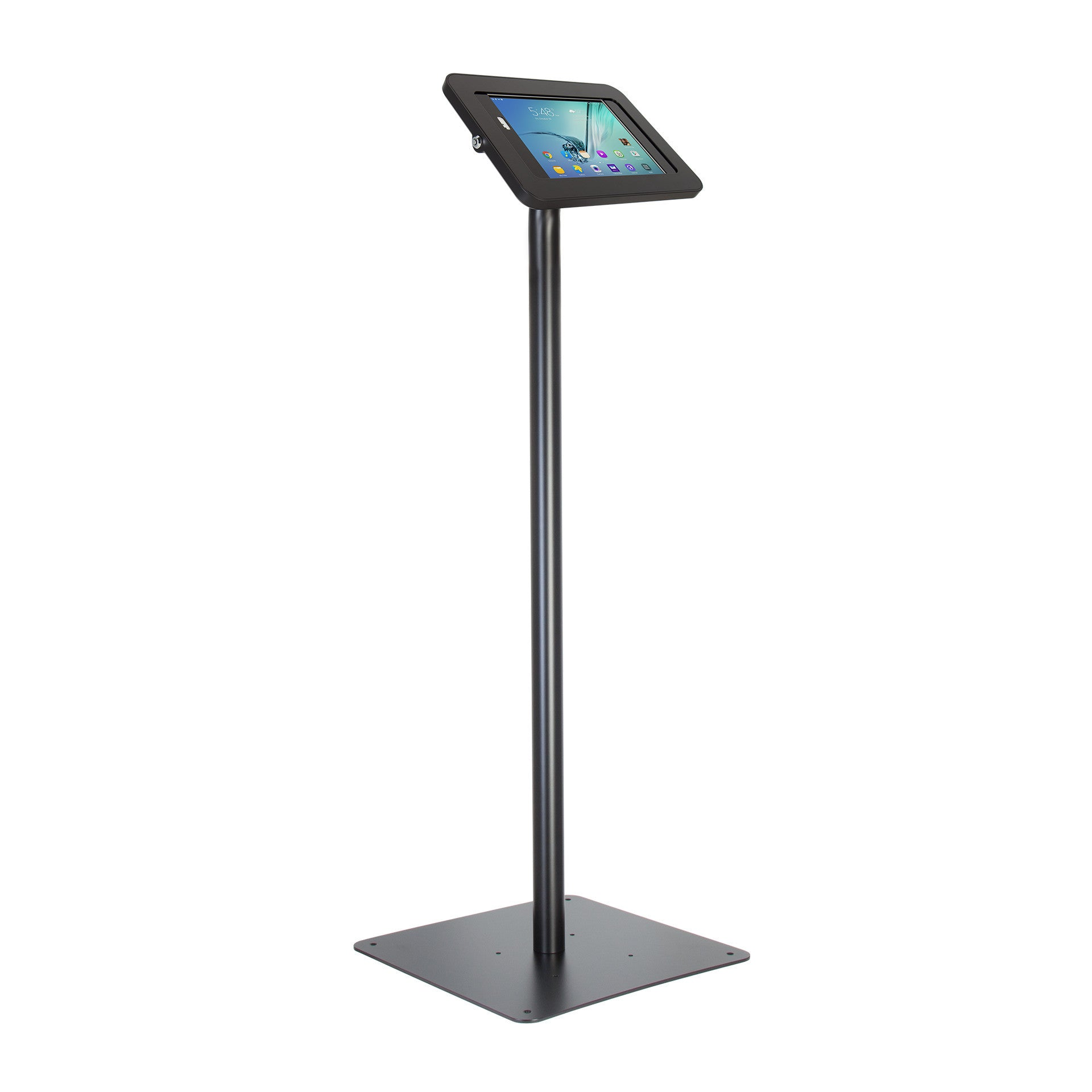 Elevate II Floor Stand Kiosk for Galaxy Tab S3 | S2 9 7 (Black)