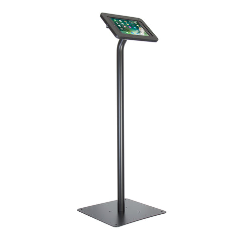 kiosks - Elevate II Floor Stand Kiosk for iPad Pro 9.7, Air 2 (Black) - The Joy Factory