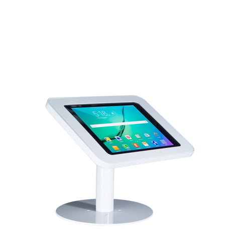 Elevate II Countertop Kiosk for Galaxy Tab S2 9.7 (White) - The Joy Factory