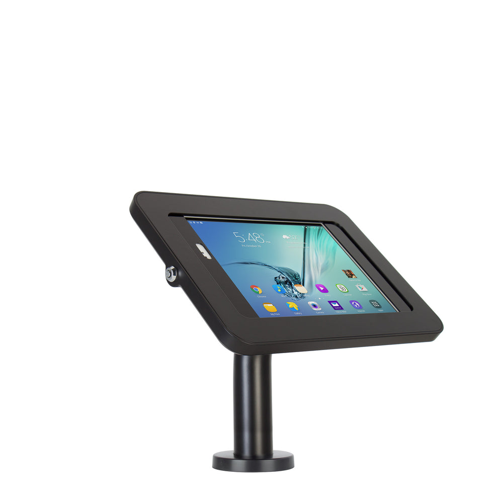 kiosks - Elevate II Wall | Countertop Mount Kiosk for Galaxy Tab S3 | S2 9.7 (Black) - The Joy Factory