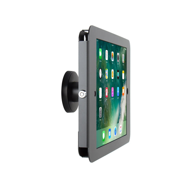 "kiosks - Elevate II On-Wall Mount Kiosk for iPad Pro 12.9"" (Black) - The Joy Factory"