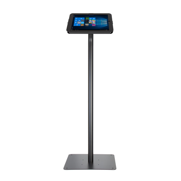 kiosks - Elevate II Floor Stand Kiosk for Surface Pro 4 & 3 (Black) - The Joy Factory