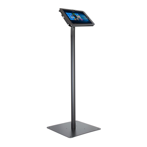 kiosks - Elevate II Floor Stand Kiosk for Surface Pro | Pro 4 | Pro 3 (Black) - The Joy Factory